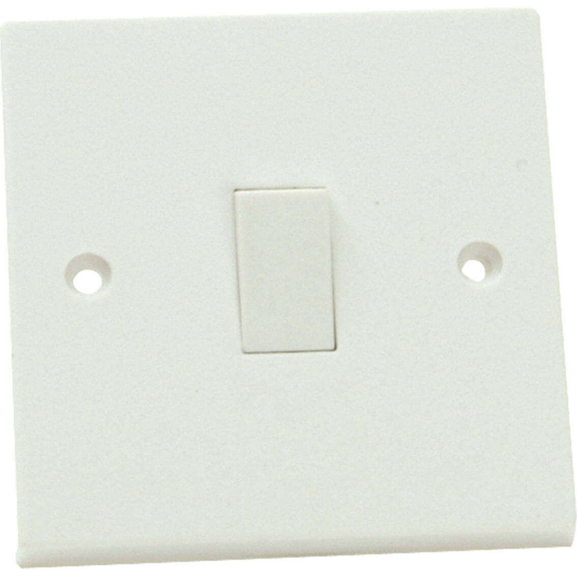 Tooled Up/Electrical & Lighting/Lighting & light bulbs/Smj 1 Gang 1 Way Light Switch