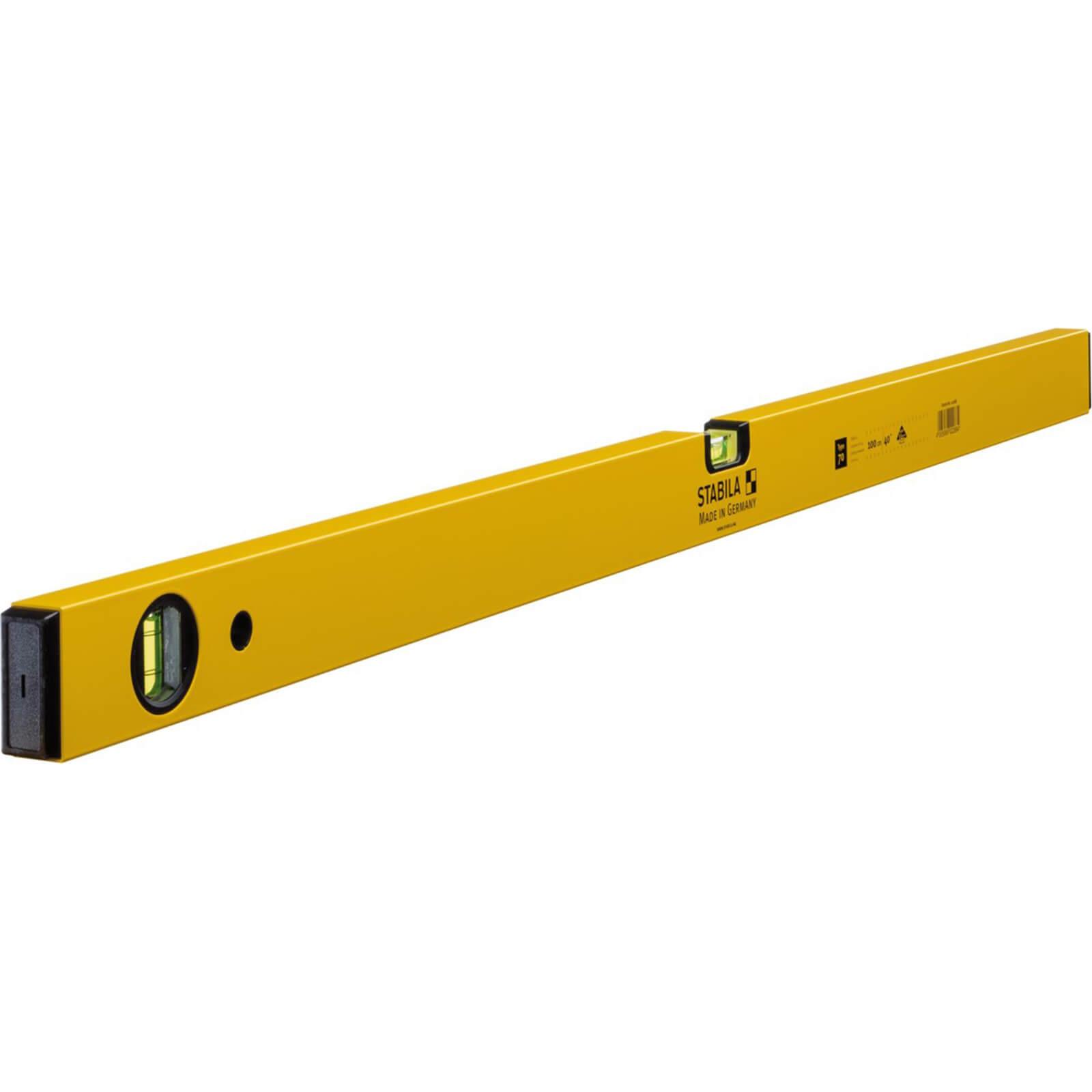 Stabila 70-120 Single Plumb 2 Vial Spirit Level 120cm / 48