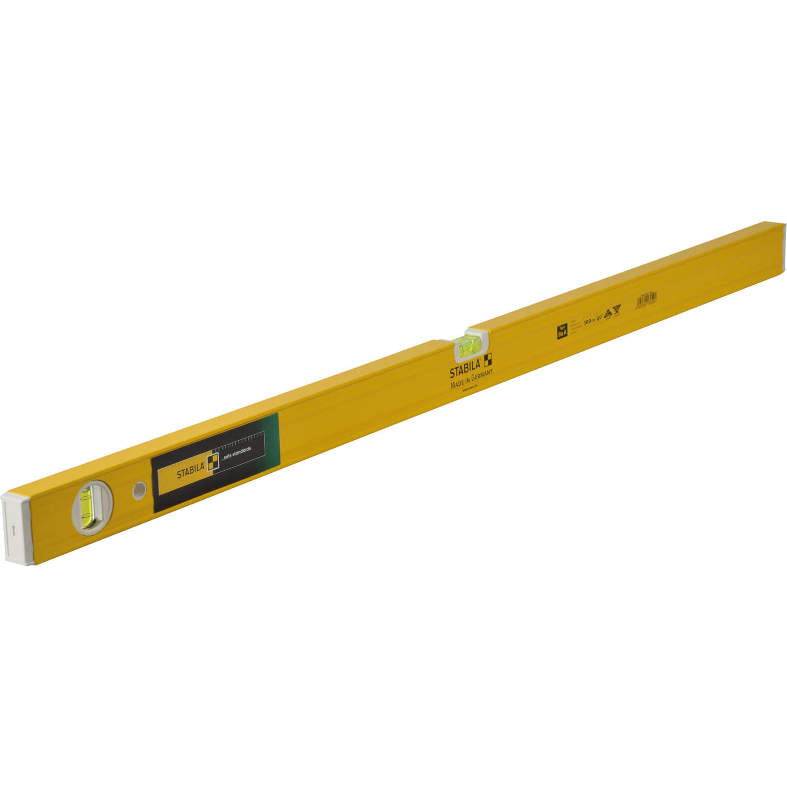 Stabila 80A-2 3 Vial Spirit Level 100cm / 40
