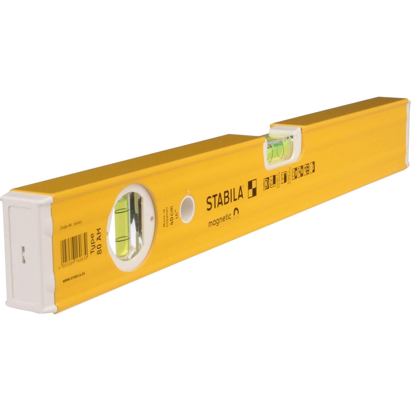 Stabila 80AM 2 Vial Magnetic Spirit Level 80cm / 32