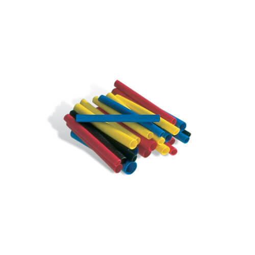Steinel Shrink Tubings 1.6 - 4.8mm Diameter for Heat Guns Pack of 50