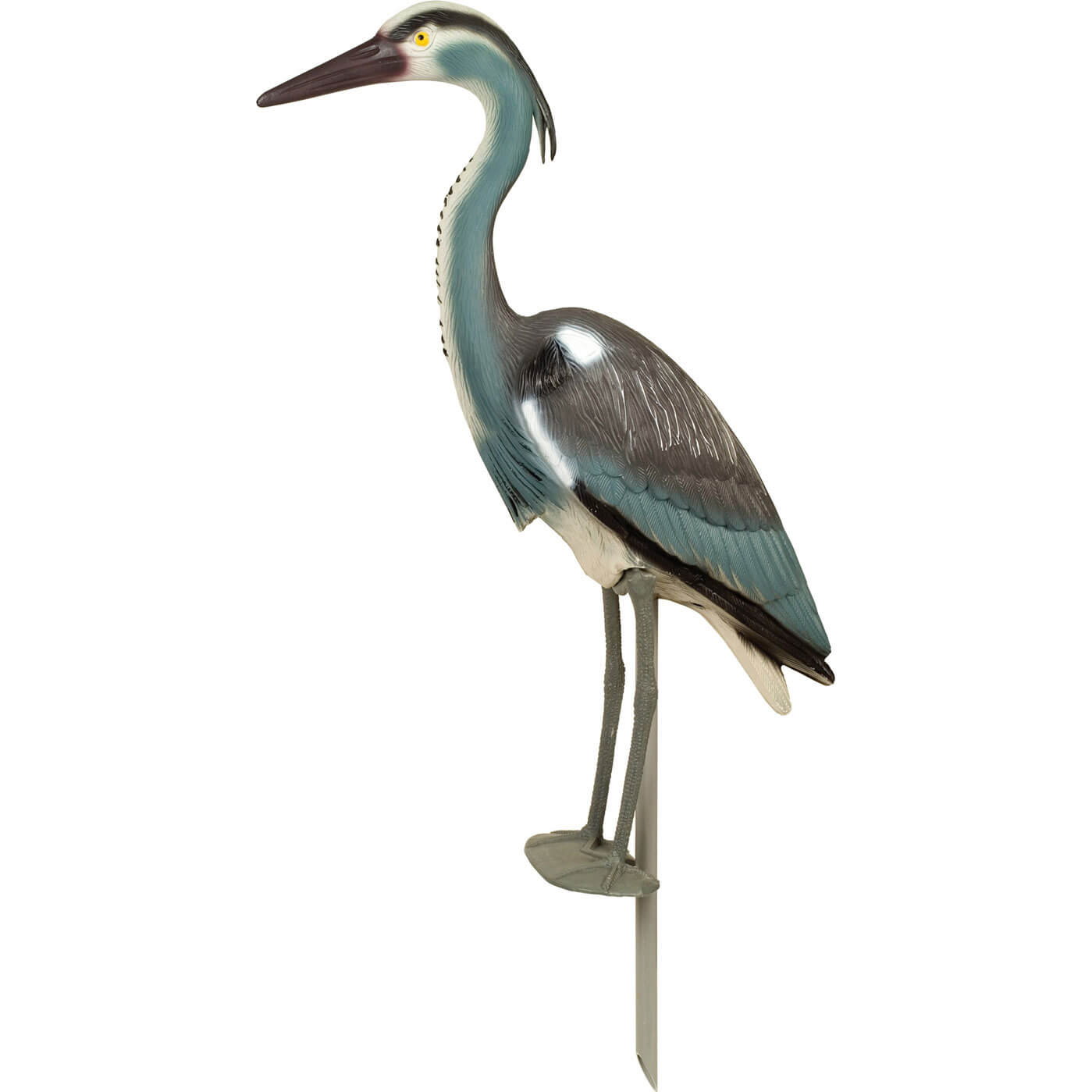 Heron garden ornament - Stv Heron Garden Ornament Bird Deterant