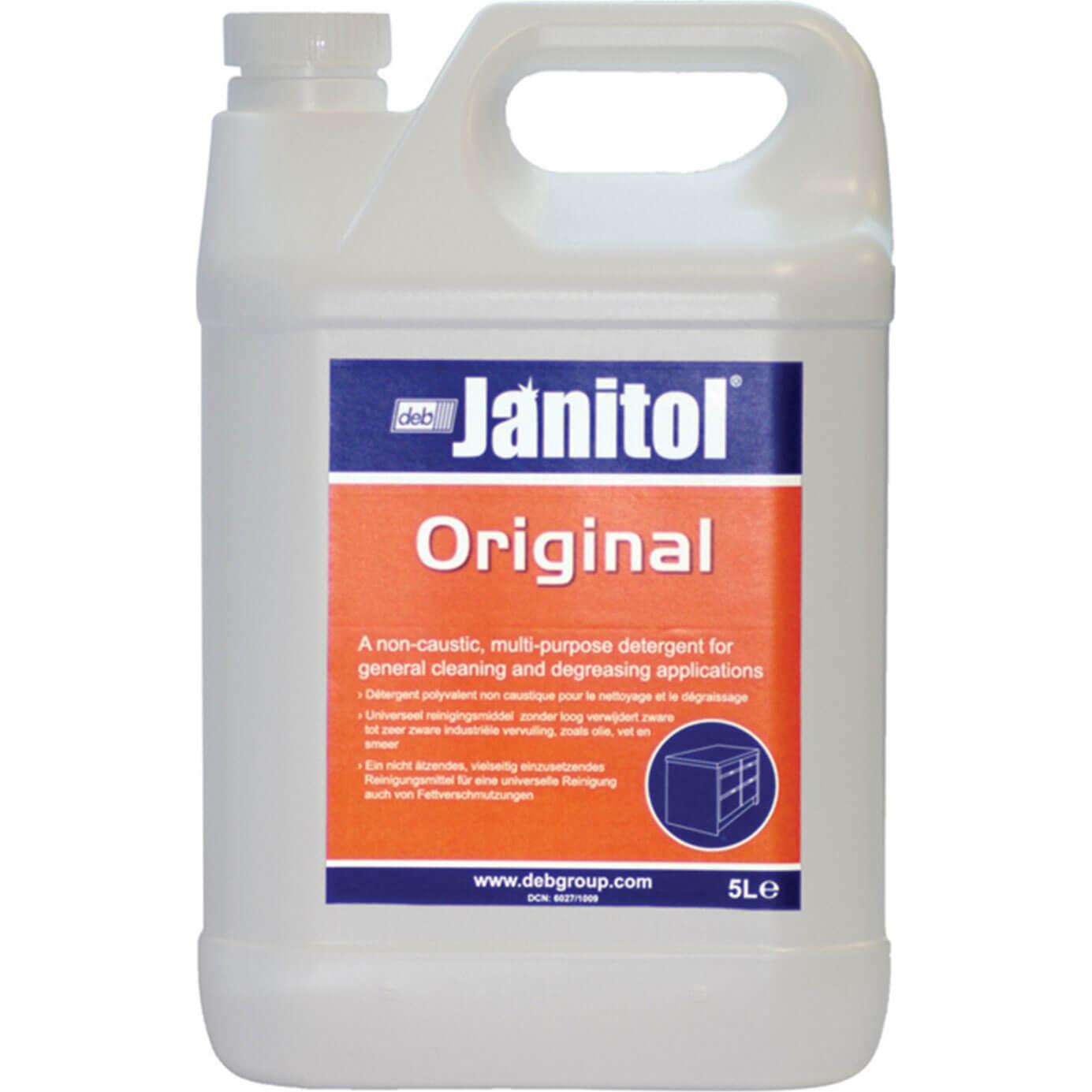 Image of Swarfega Janitol Original Detergent 5L