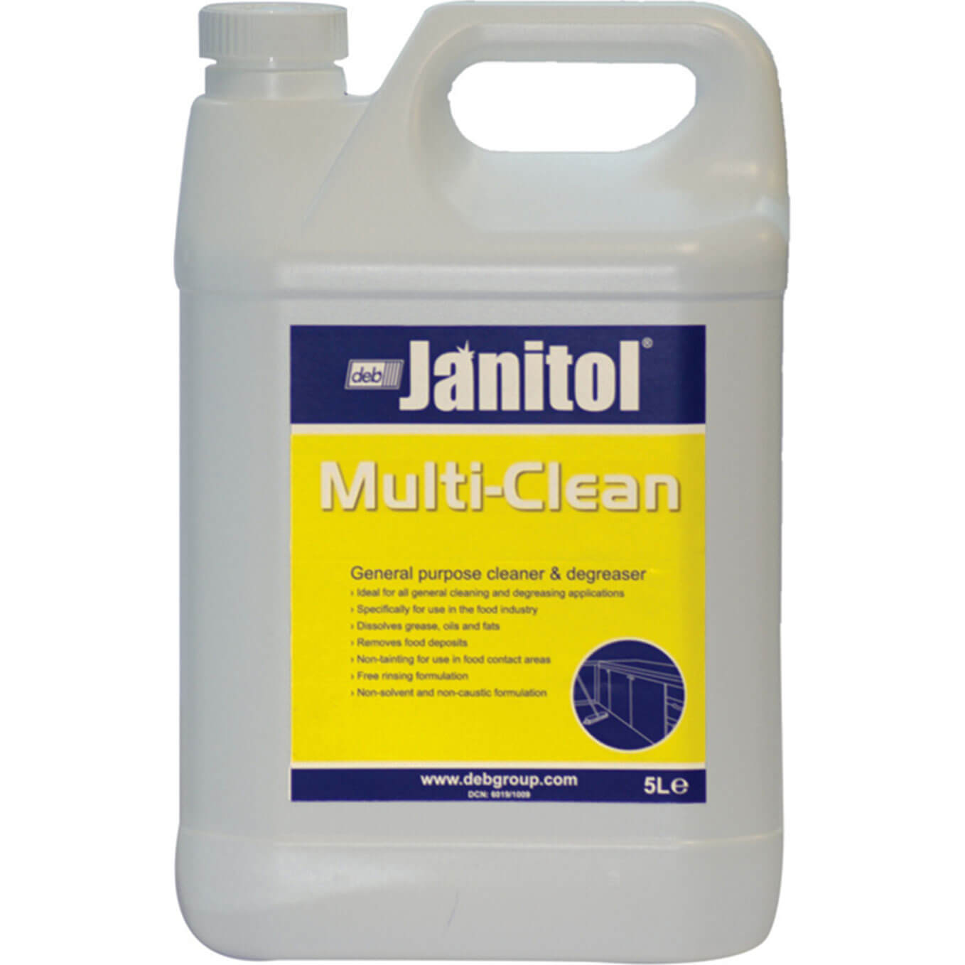 Swarfega Janitol Multi Cleaner & Degreaser 5L