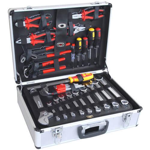 127 Piece Hand Tool Kit in Aluminium Case