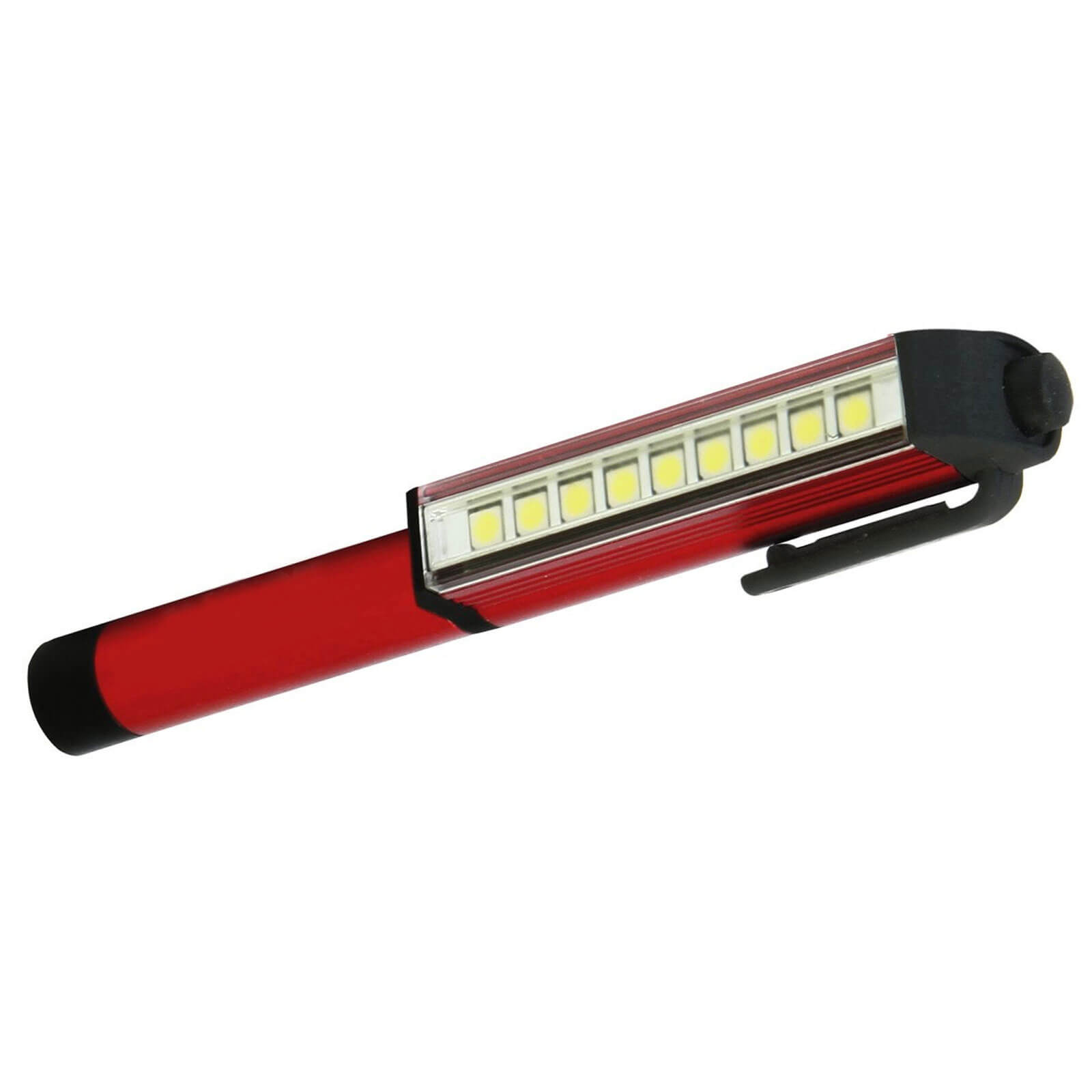 Image of Aluminium LED Pen Light Torch 140 Lumens with Magnetic Clip