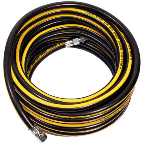 "15m Professional High Quality Air Hose 8mm (5/16"") with 1/4"" BSP Female Connectors"