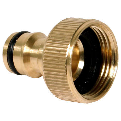 1/2&quot BSP Brass Hose Pipe Threaded Tap Connector