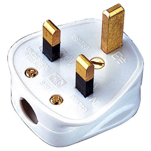 13amp 3 Pin Standard 240v Plug