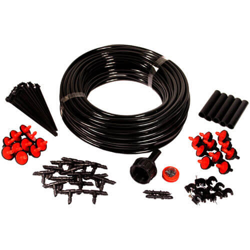 23 Metre Micro Irrigation Set for Pots, Baskets, Gardens & Greenhouses