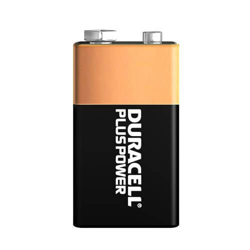 Duracell Plus Power 9V Batteries Pack of 8