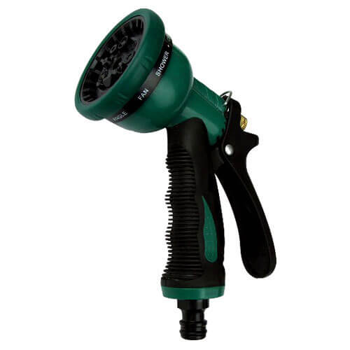 10 Pattern Water Spray Gun Green