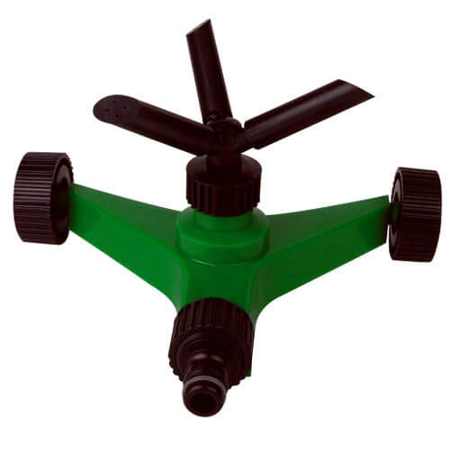 Plastic 3 Arm Rotating Water Sprinkler