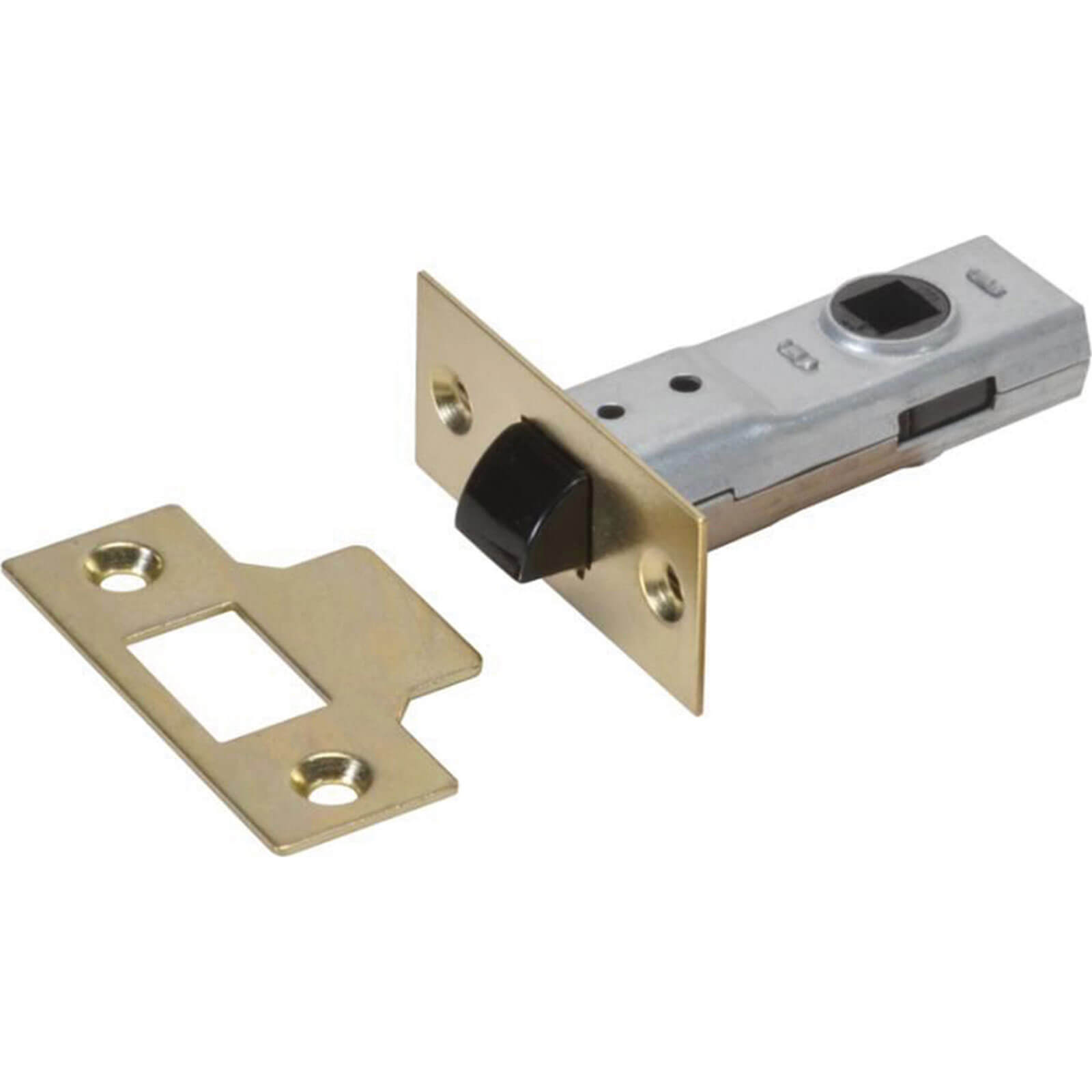"Tooled Up/Ironmongery & Security/Ironmongery/Union J2600 Essentials Polished Brass Tubular Mortice Latch 65mm / 2.5"""