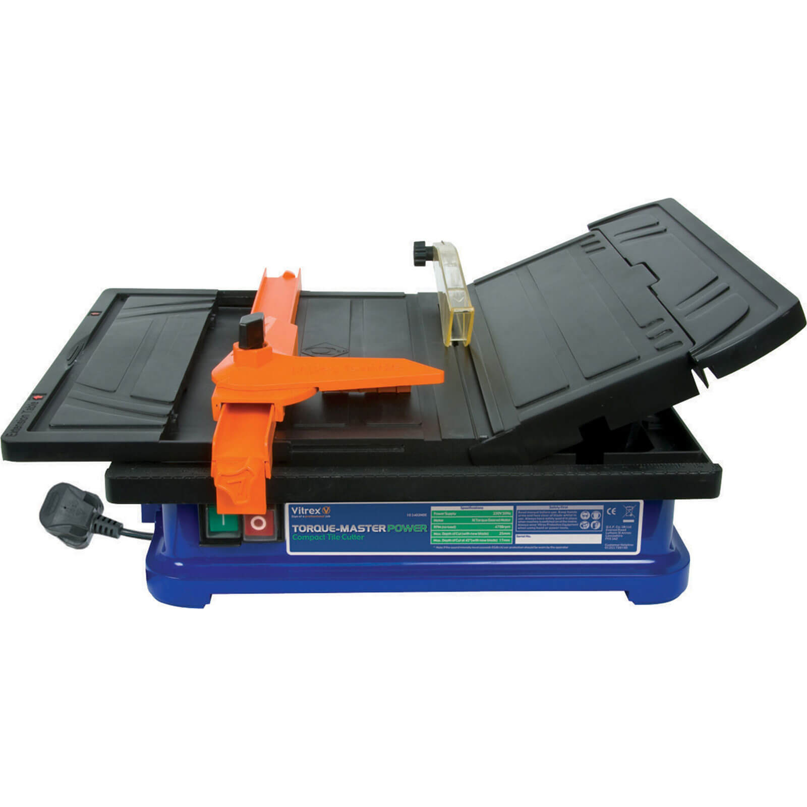 Vitrex Torque Master Power Tile Saw 110mm Blade 450w 240v