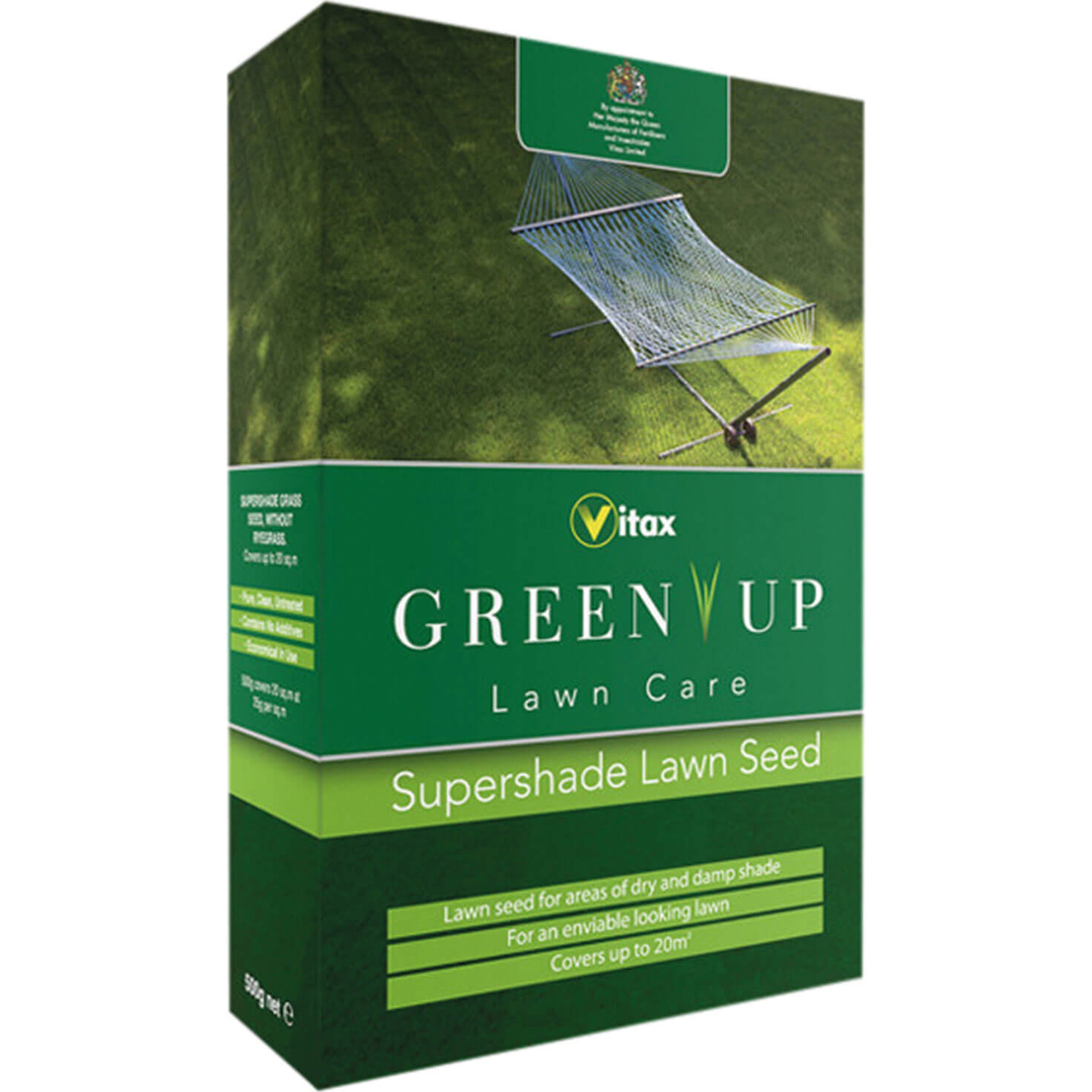 Vitax Green Up Supershade Lawn Seed 500g