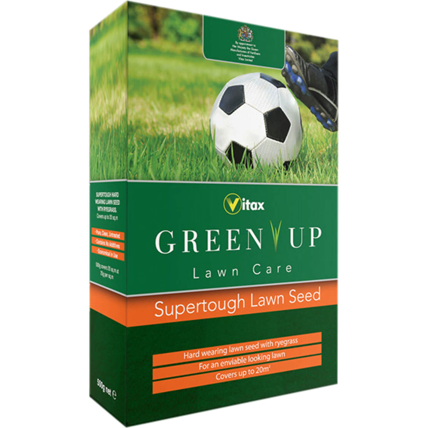 Vitax Green Up Supertough Lawn Seed 45 Square Metre