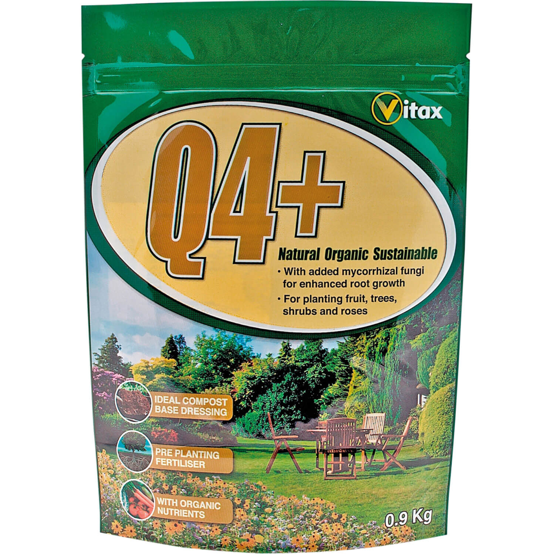 Vitax Q4+ Pre Planting Plant, Shrub & Tree Fertilizer 0.9Kg