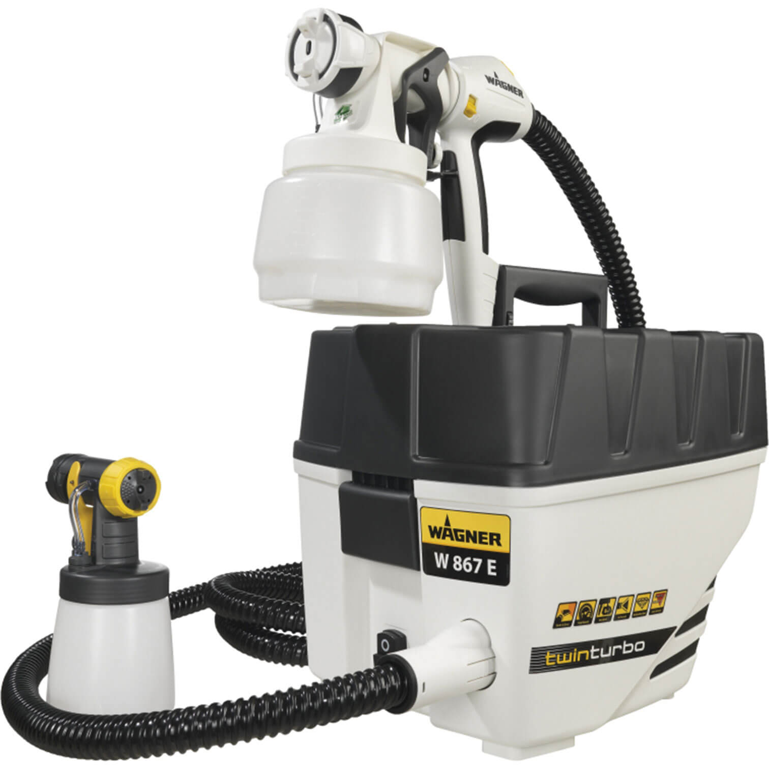 wagner spraytech w867e wall perfect paint spraying system 570w 240v
