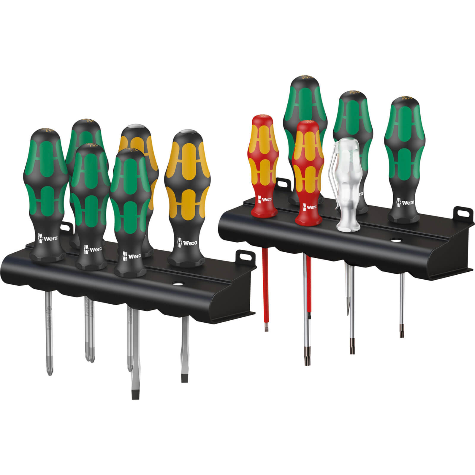 Wera Kraftform Plus 12 Piece 2XL Artisan Screwdriver Set