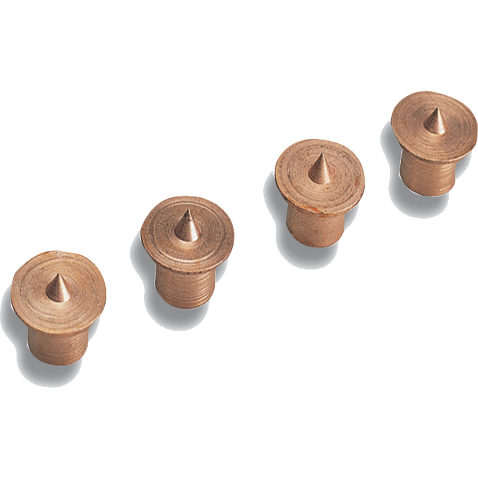 Tooled Up/Building & Timber Products/Timber and Flooring/Wolfcraft 2912 Centre Points (4) 8mm