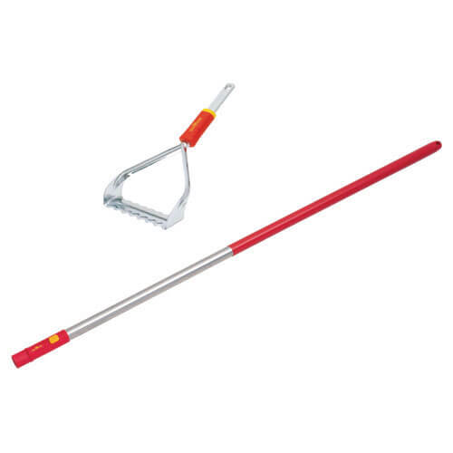 Wolf Garten Multi Change Garden Push Pull Weeder + Aluminium Handle 1200mm