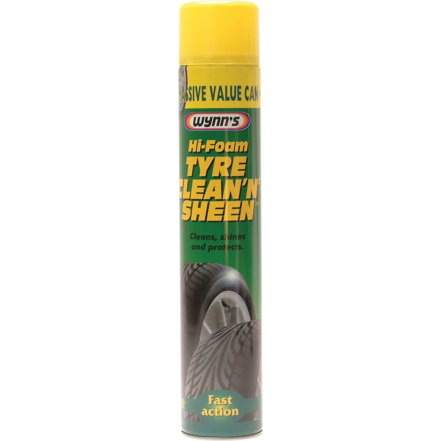 Wynns Tyre Clean N Sheen 600ml