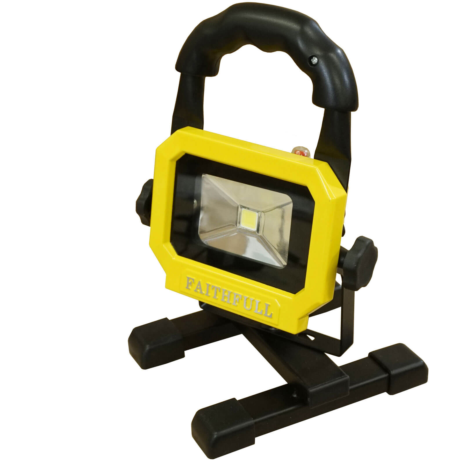 Image of Faithfull Rechargeable COB Work Light with Magnetic Base 10w 650 Lumens