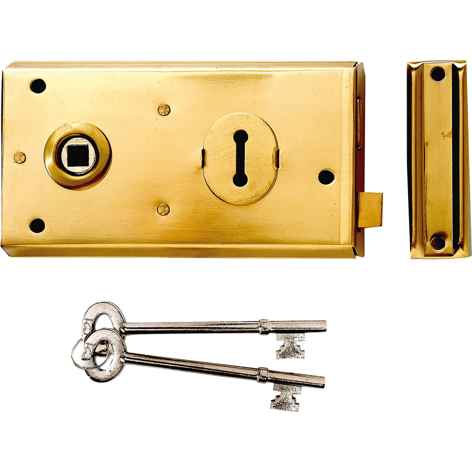 Yale Locks P401 Rim Lock Grey Finish 138 x 76mm