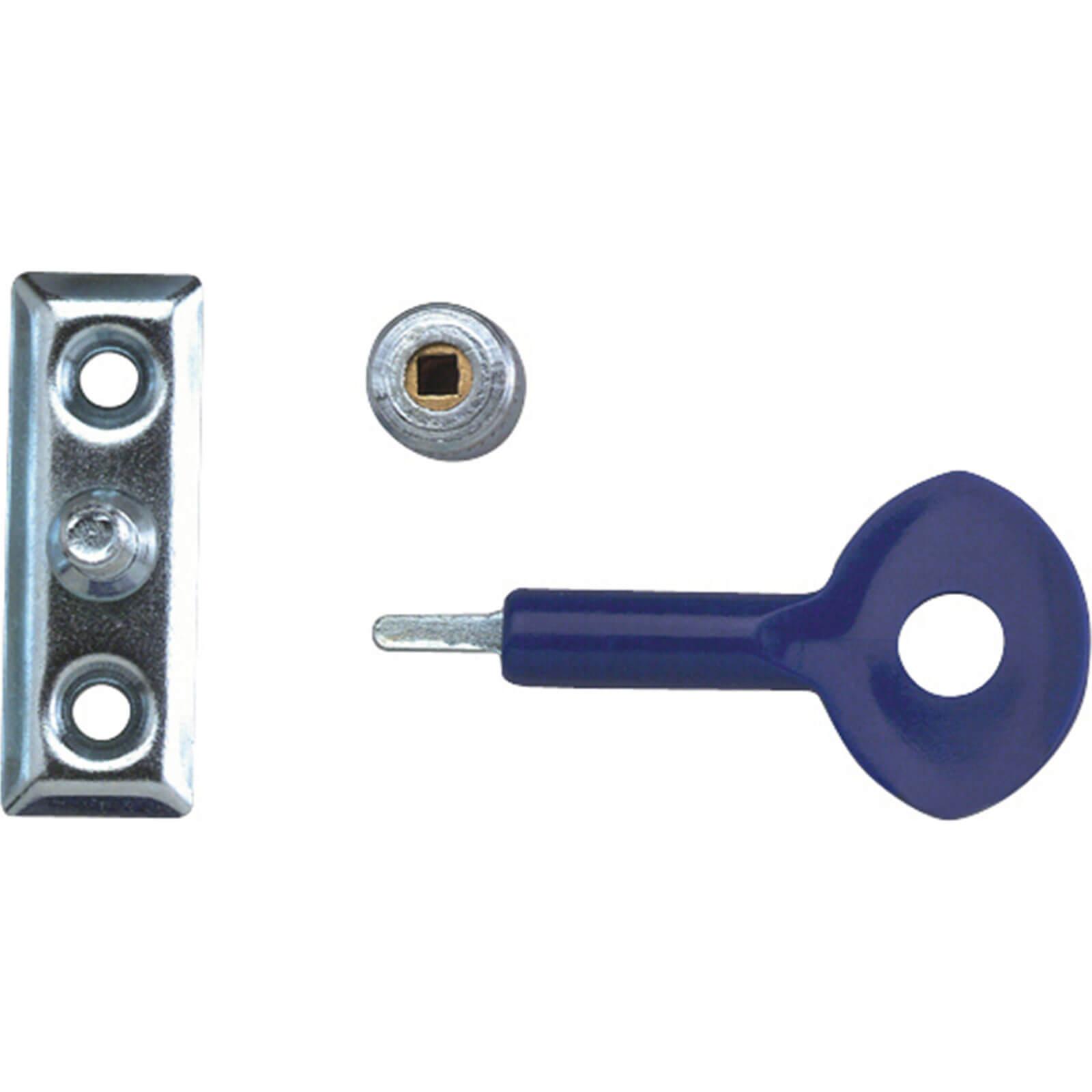 Yale Locks P111 Window Staylocks Polished Brass Finish Pack of 6