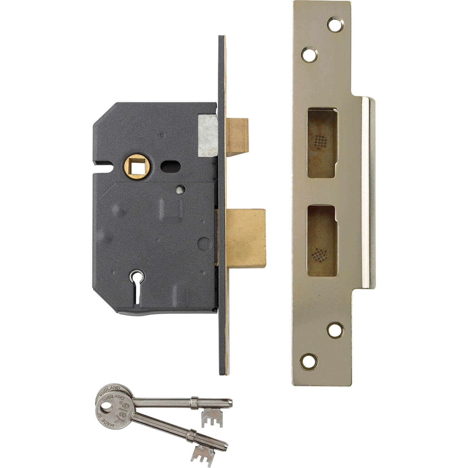 Yale locks pm560 high security bs 5 lever mortice sash for Door yale lock