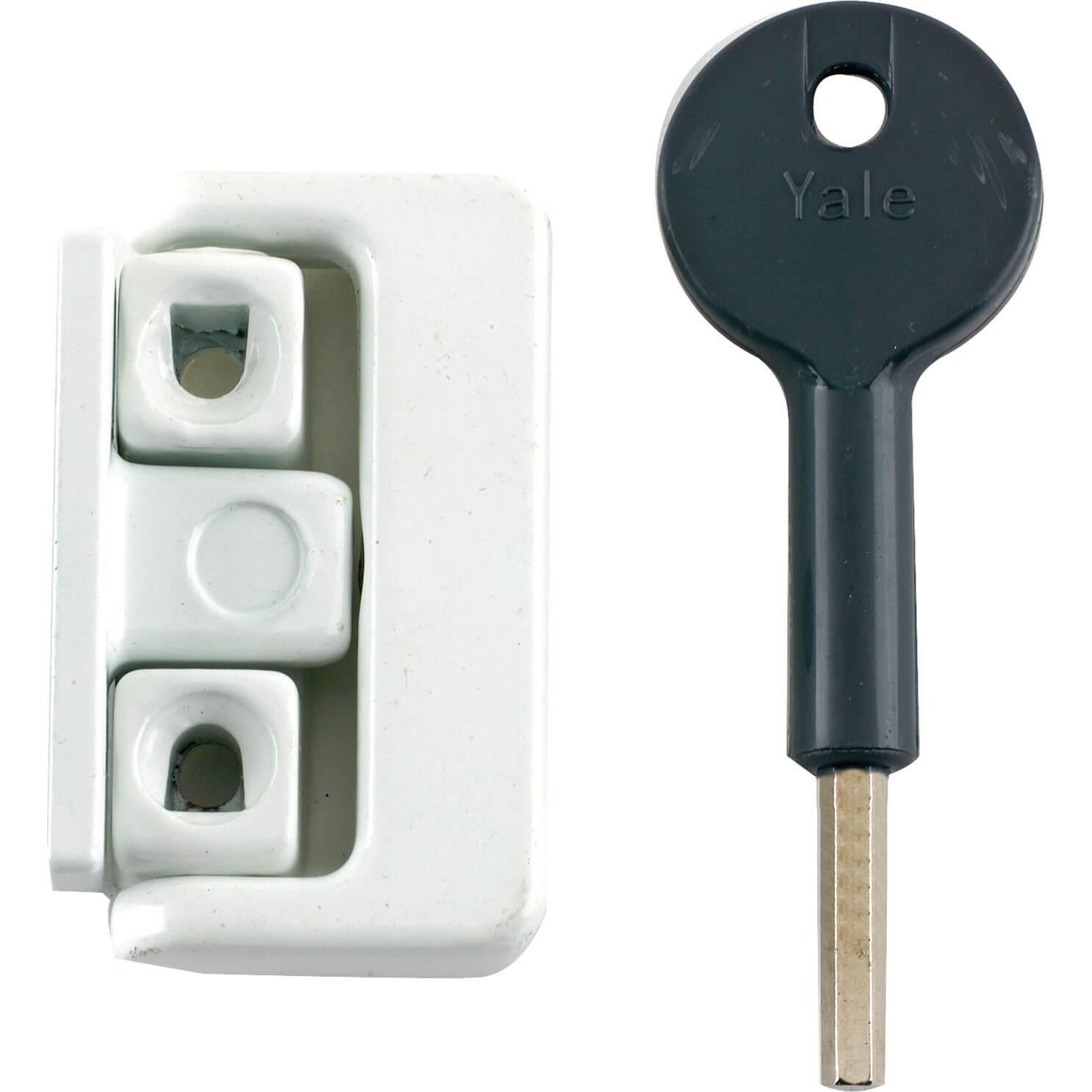 Yale Locks 8K101 Window Latches Multi Pack of 4 Electro Brass