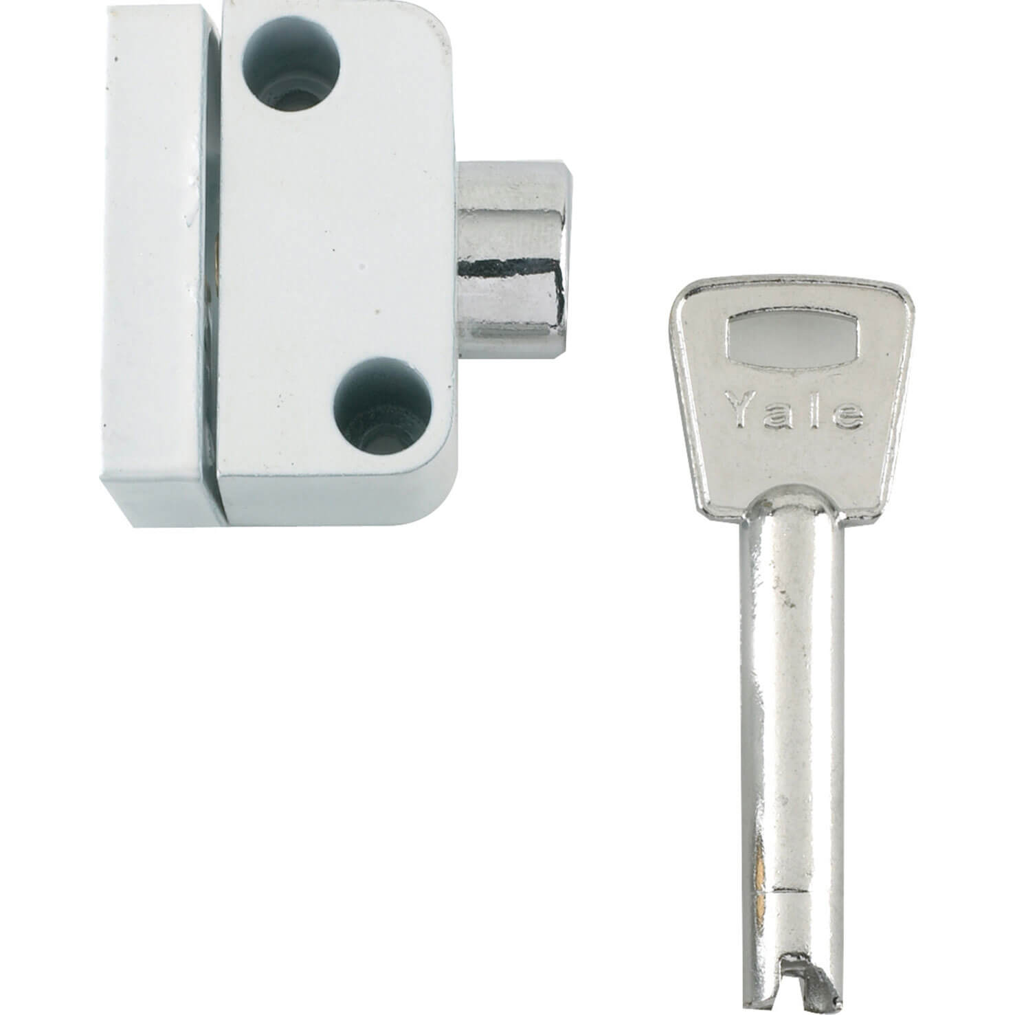 Yale Locks 8K102 Push Button Window Lock White Finish