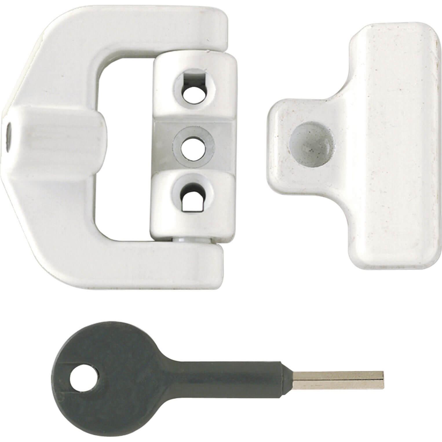 Yale Locks 8K123 PVCu Window Lock White Finish