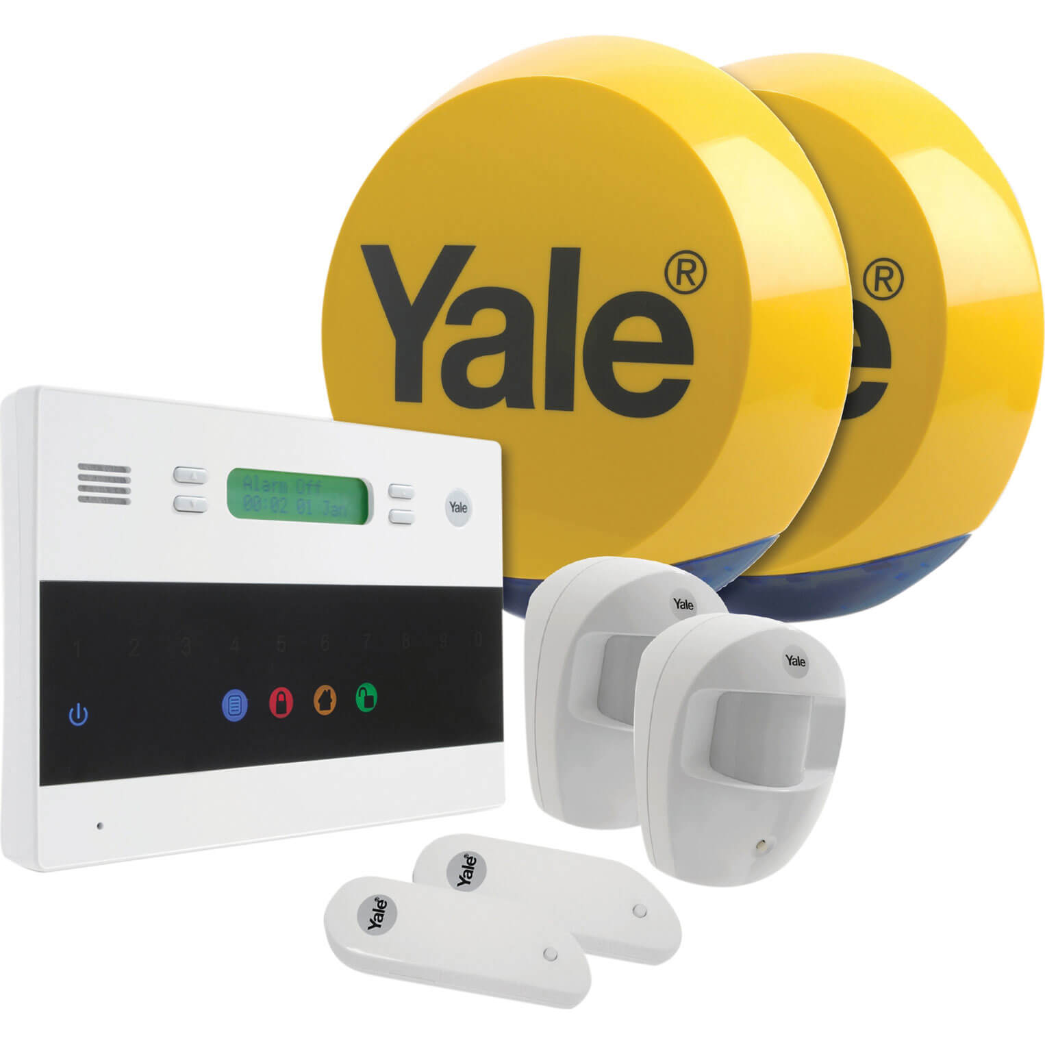Offerta: Yale Security Easy Fit Telecommunication Alarm Kit 240v