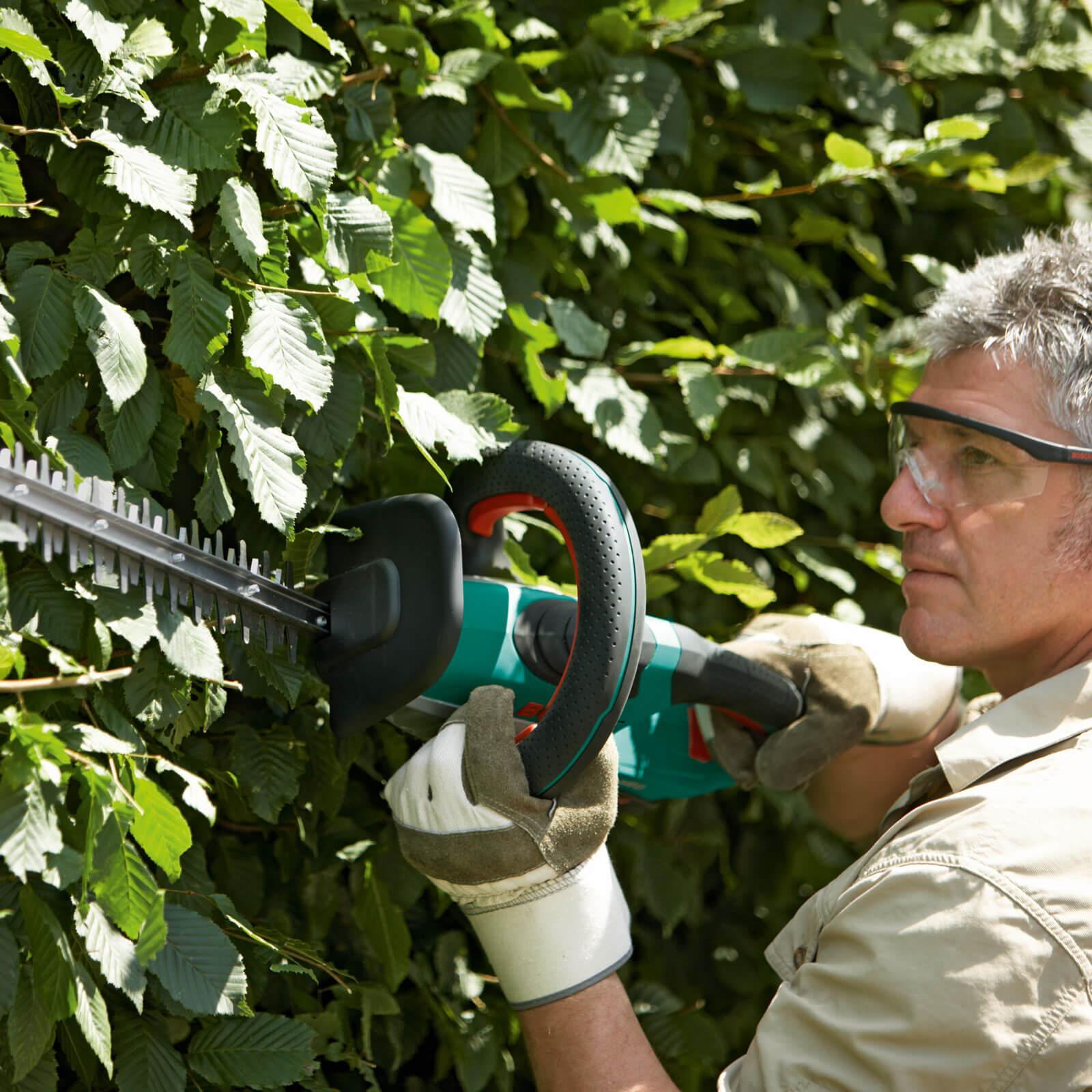 bosch ahs 54 20 li 36v cordless hedge trimmer with 540mm. Black Bedroom Furniture Sets. Home Design Ideas