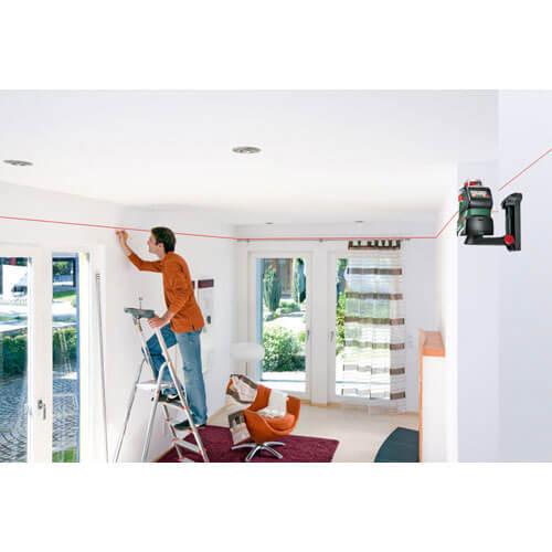 bosch pll 360 self levelling line laser level tooled. Black Bedroom Furniture Sets. Home Design Ideas