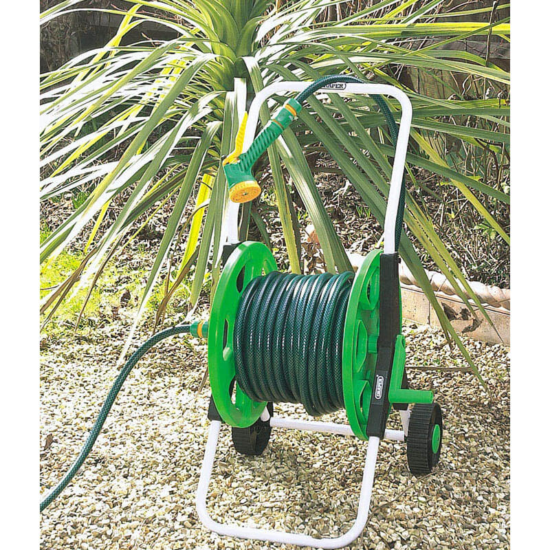 Draper 60m Empty Hose Reel Cart : Tooled-Up.com