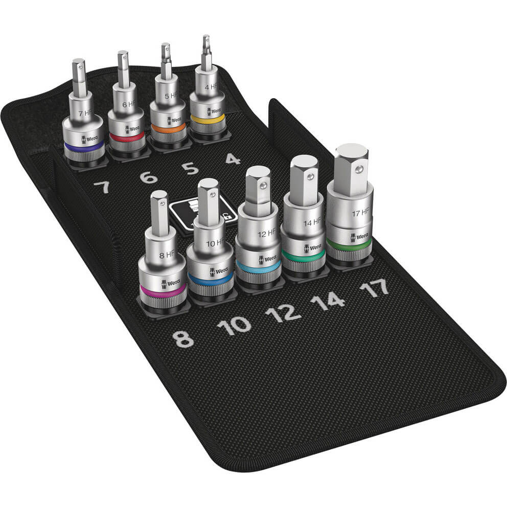 Click to view product details and reviews for Wera Zyklop 8740 C Hf 10 Piece 1 2 Drive Hex Bit Socket Set 1 2.