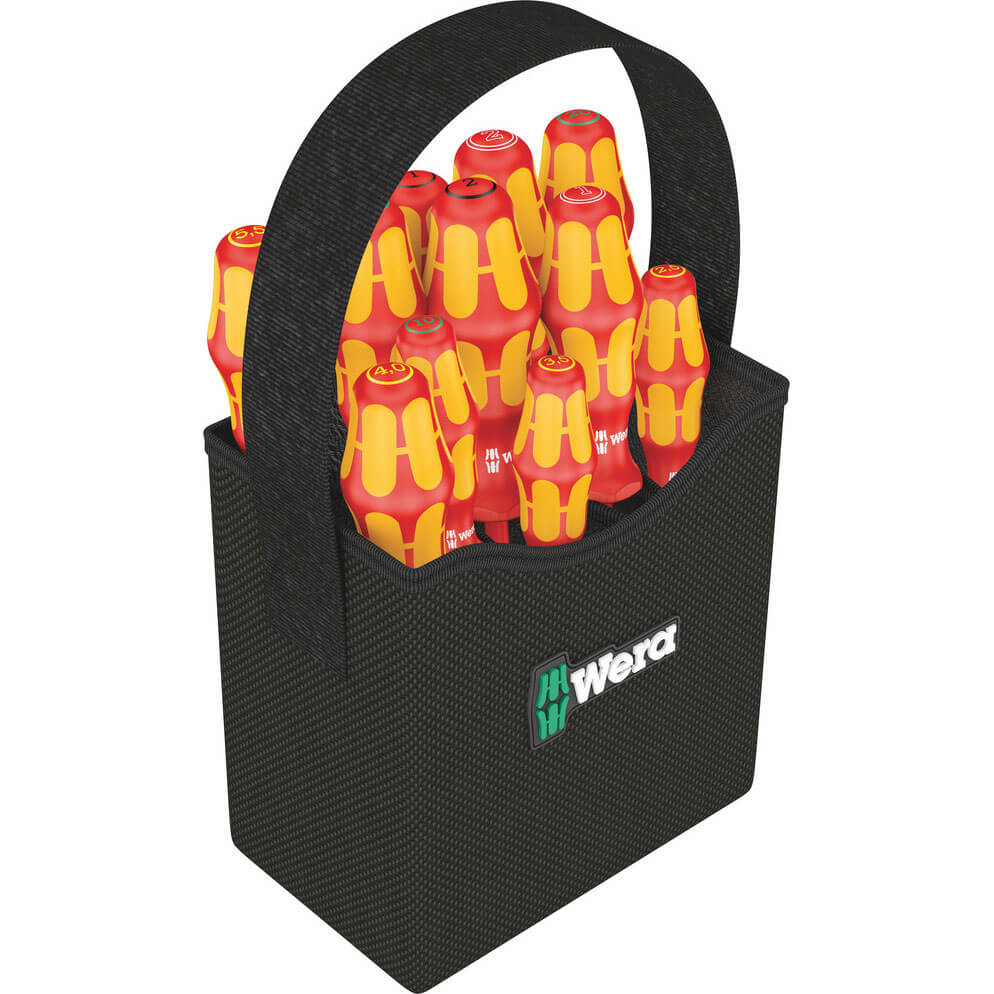 Click to view product details and reviews for Wera 12 Piece Kraftform Plus Vde Insulated 2go Screwdriver Set.