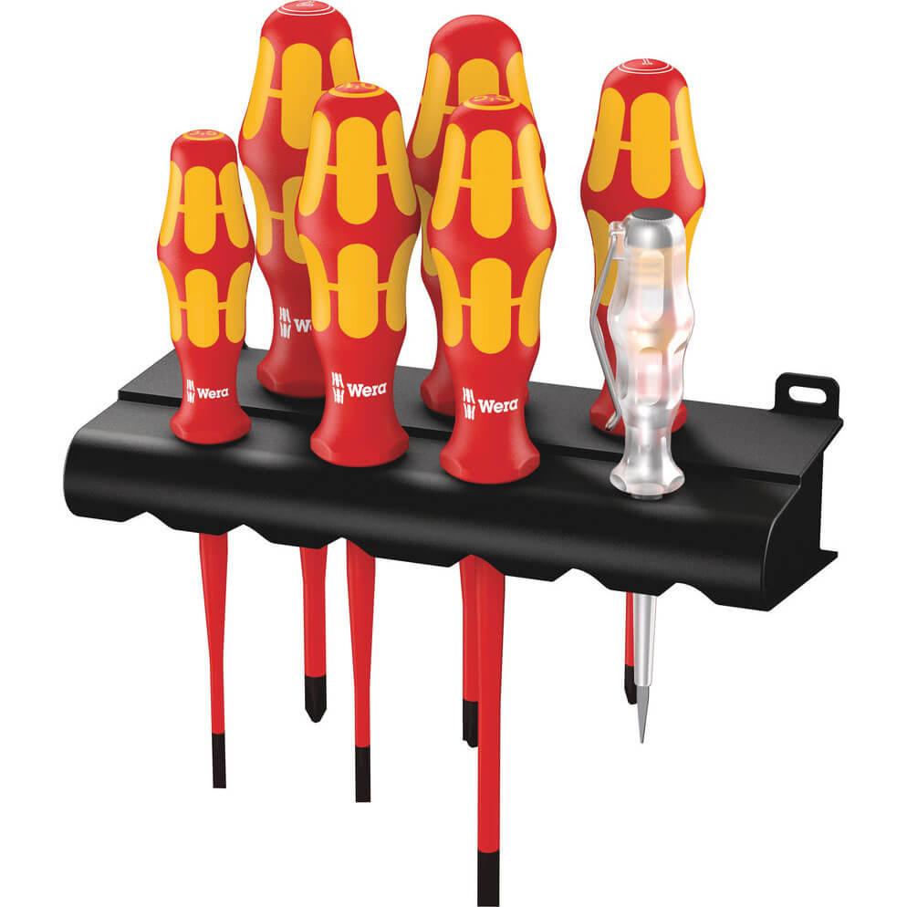 Click to view product details and reviews for Wera 160i 7 Piece Kraftform Plus Vde Insulated Slimline Screwdriver Set.