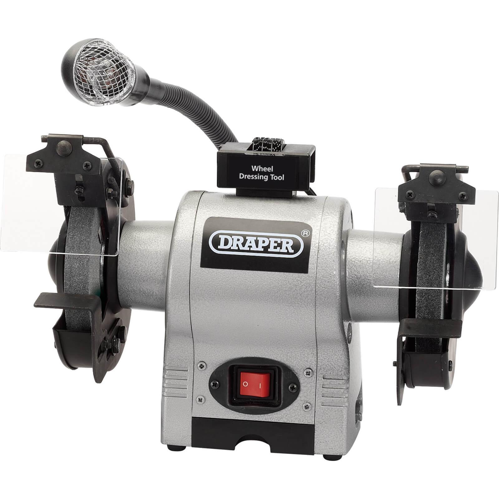 Image of Draper GD625L Bench Grinder150mm 240v