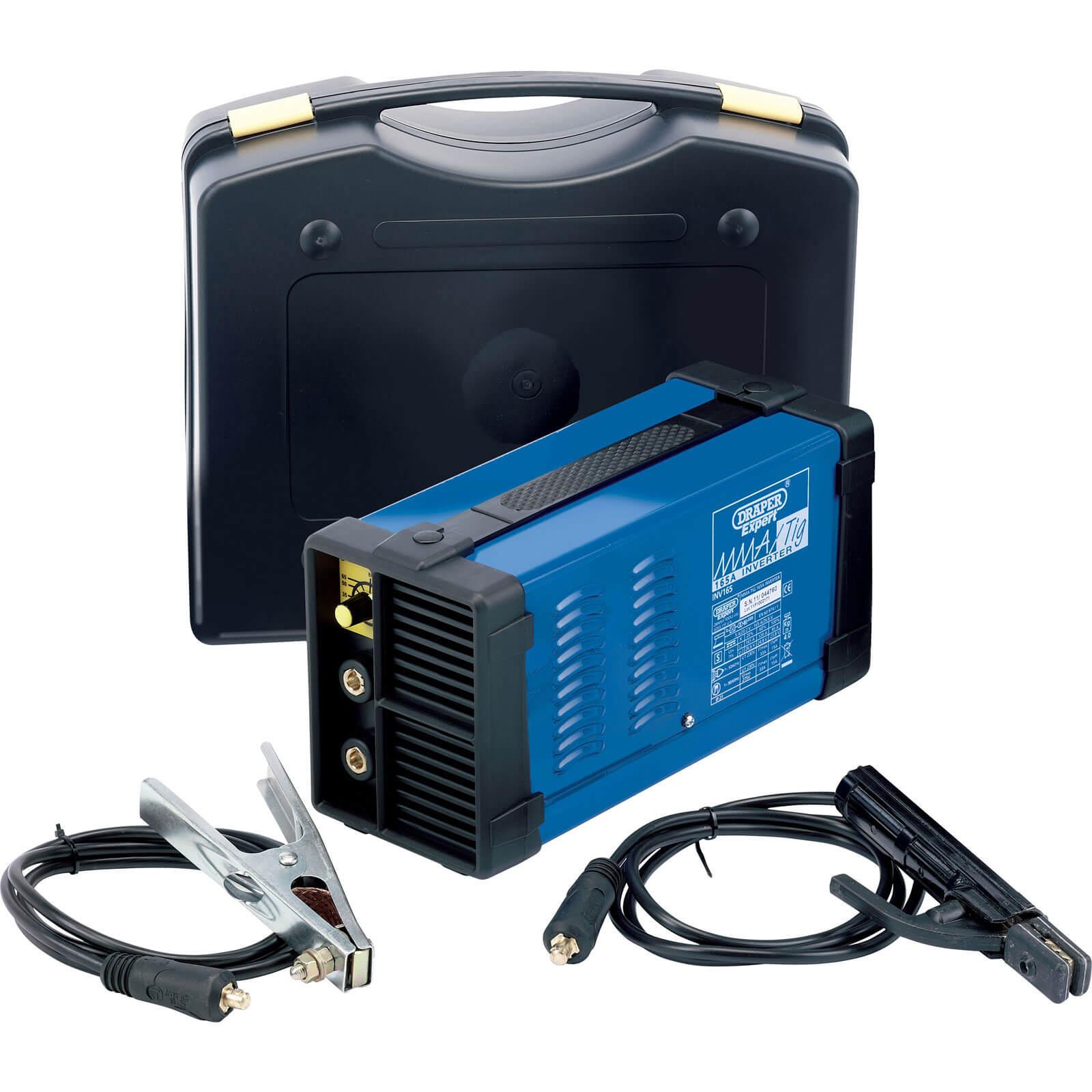 Draper Expert INV165 165Amp MMA/TIG Inverter Welder Kit 240v