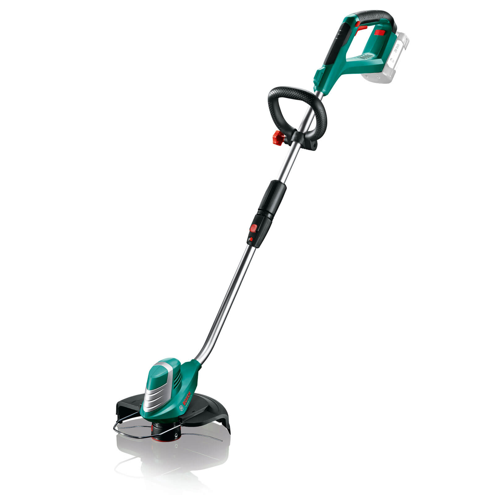 Image of Bosch ADVANCEDGRASSCUT 36v Cordless Grass Trimmer 300mm No Batteries No Charger