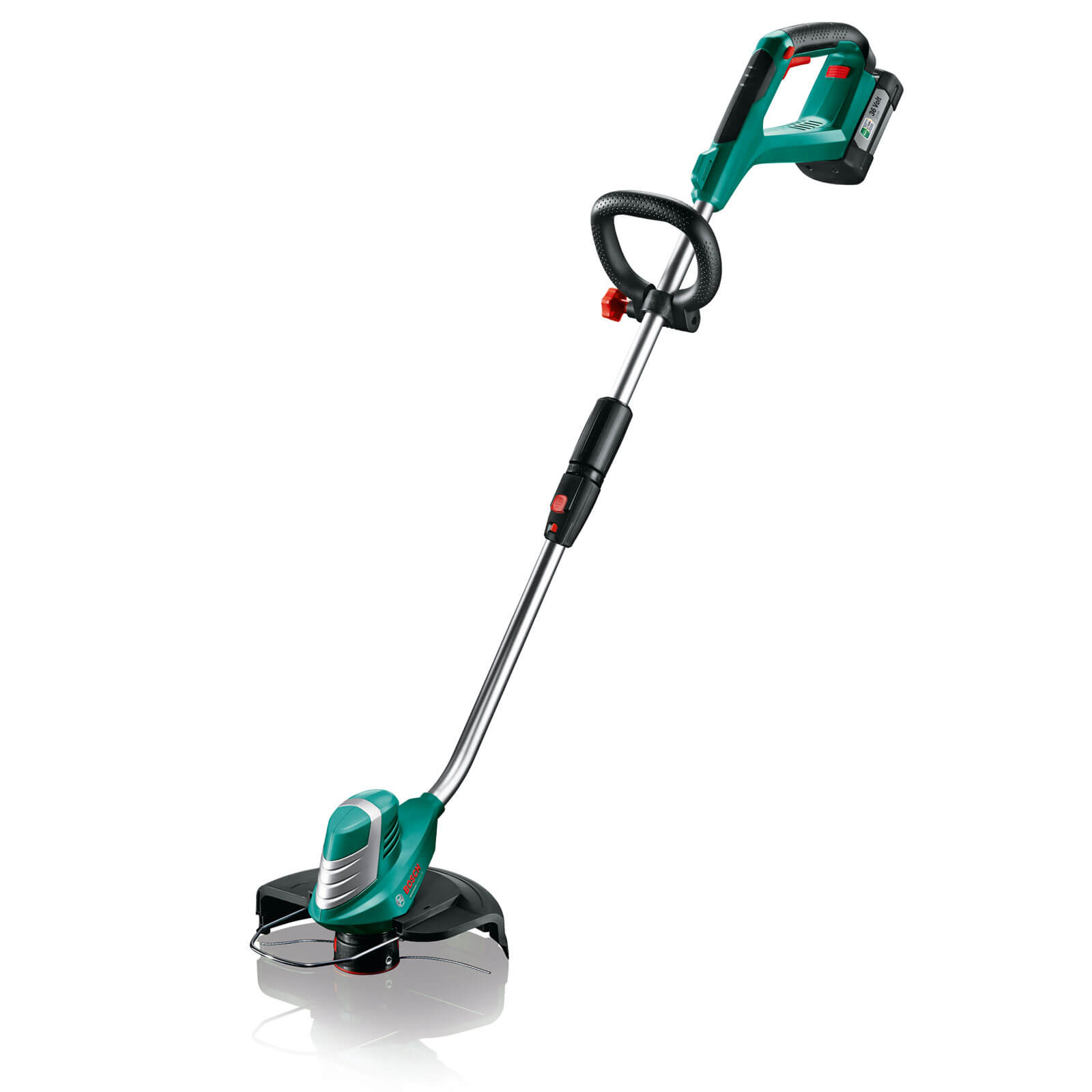 Image of Bosch ADVANCEDGRASSCUT 36v Cordless Grass Trimmer 300mm 1 x 2ah Li-ion Charger
