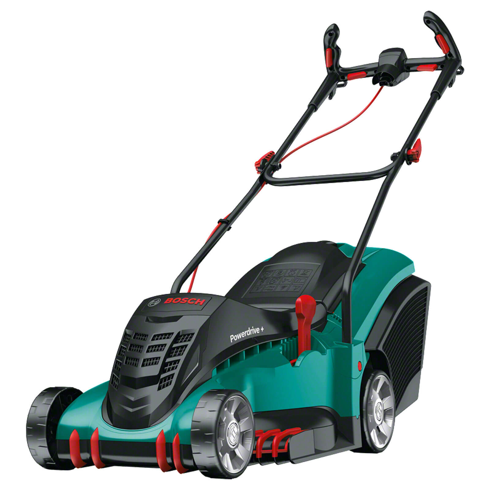 Image of Bosch ROTAK 43 ERGOFLEX Rotary Lawnmower 430mm 240v