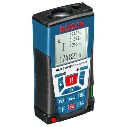 Image of Bosch GLM 250VF Distance Laser Measure 250m