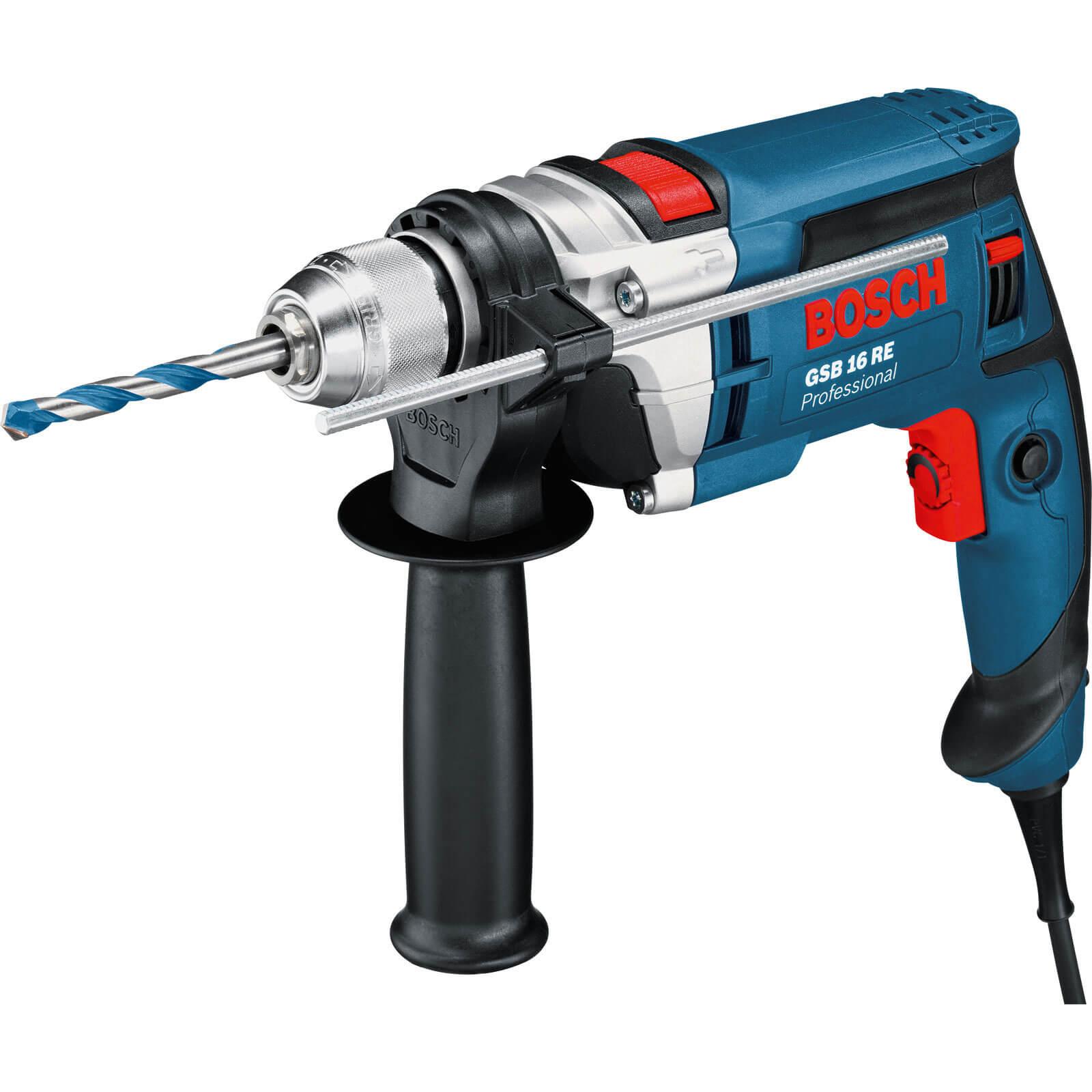 Image of Bosch GSB 16 RE Hammer Drill 110v