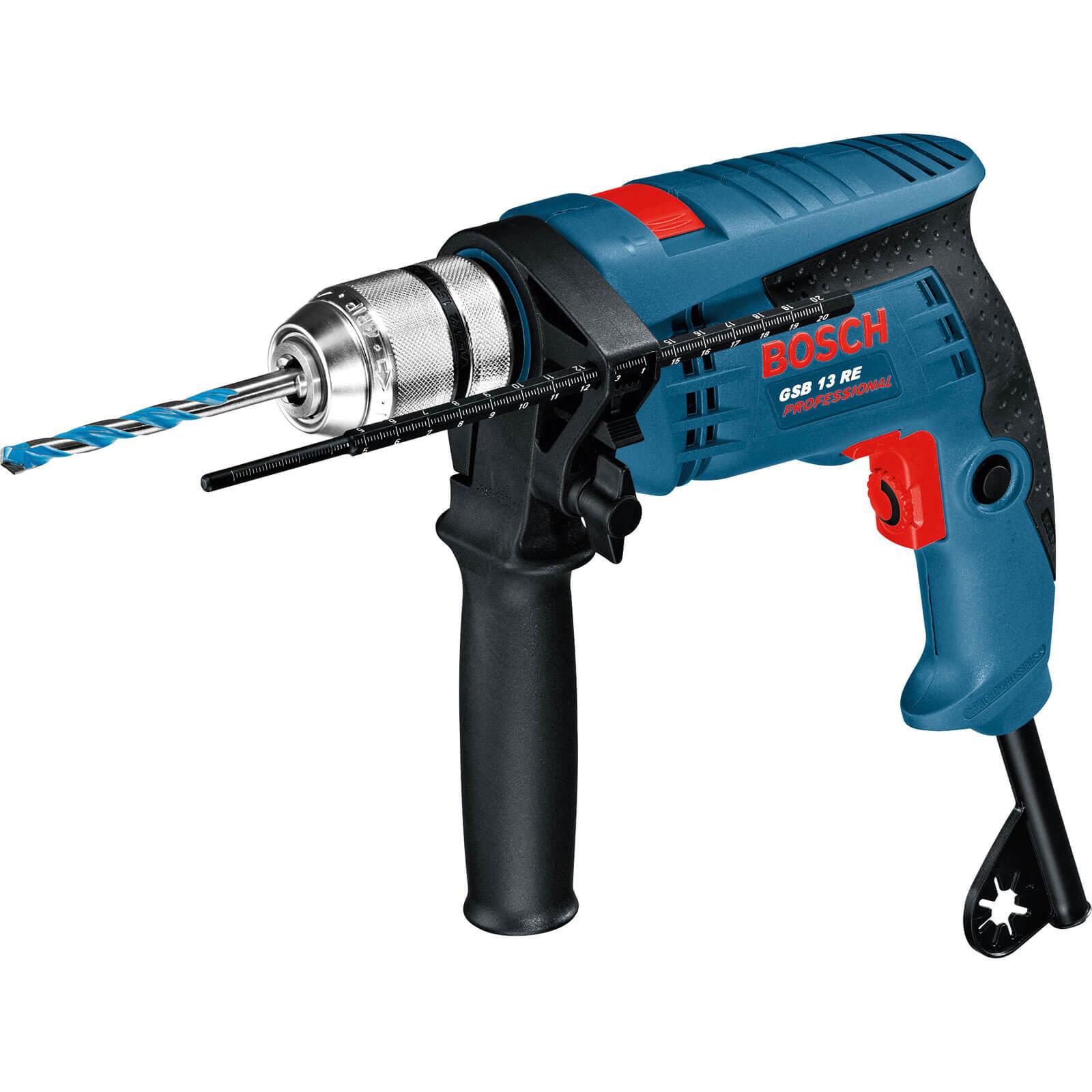 Image of Bosch GSB 13 RE Hammer Drill 110v