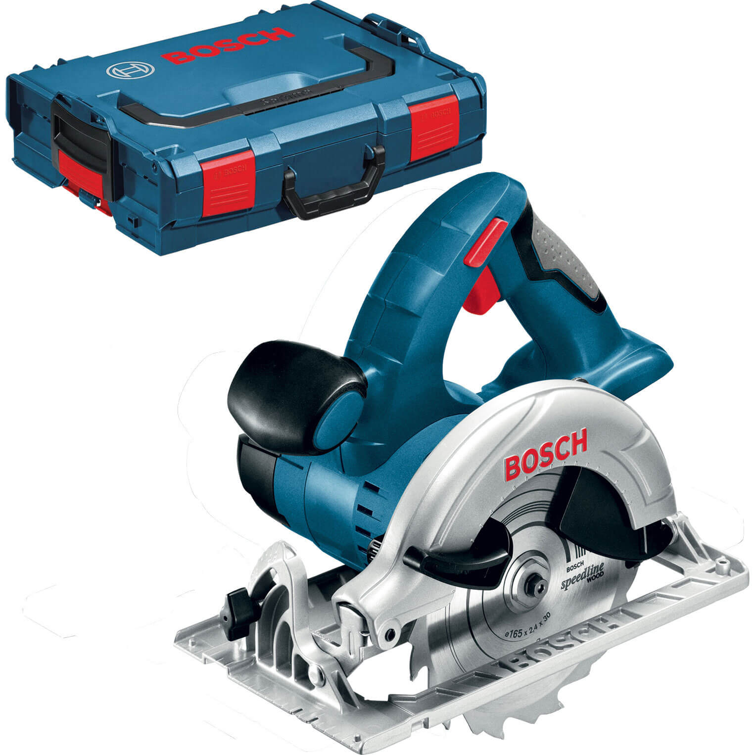 Image of Bosch GKS 18 V-LI Cordless Circular Saw No Batteries No Charger Case